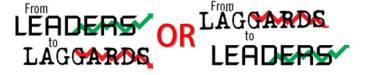 Laggards VS Leaders