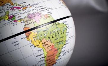 latin-america-globe
